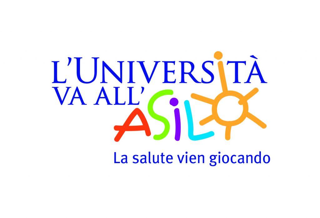 Logo univertità all'asilo